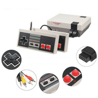 Vintage Retro TV Game Console Classic 620 Built-in Games Toys for Kids Xmas Gift