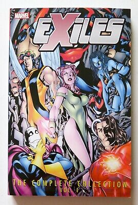 Exiles The Complete Collection Vol. 1 Marvel Graphic Novel Comic Book