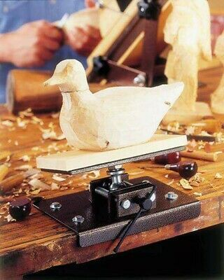 Pivotal Base for Wood Carving