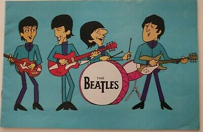 THE BEATLES 1965 UK Concert Tour Program with Moody Blues