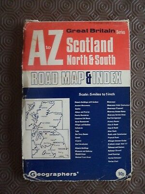 5 Rare Maps as Ordnance Survey Scotland West Country Midlands Sussex Brighton