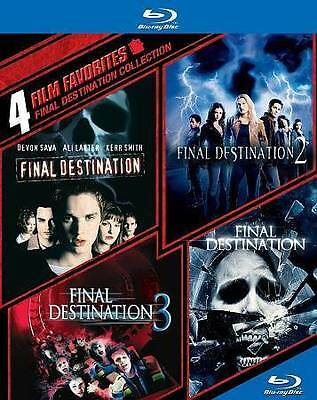 4 Film Favorites: Final Destination Collection [Blu-ray] DVD, Various, Various