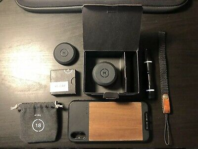 Moment 18mm Wide Lens; Great Condition (Barely Used) + Other Moment Accessories