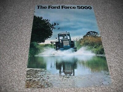 ford 5000 tractor brochure leaflet