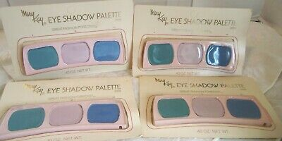 4 Mary Kay Eye Shadow Palette Forecast.40.oz #9459  green pink blue rare