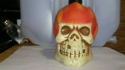 Skull Water Hookah Ceramic Glass Tobacco Pipe Made In The USA