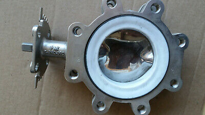 "High Performance Butterfly Valve 4"" SURESEAL 316 Stainless Steel Body Geared"