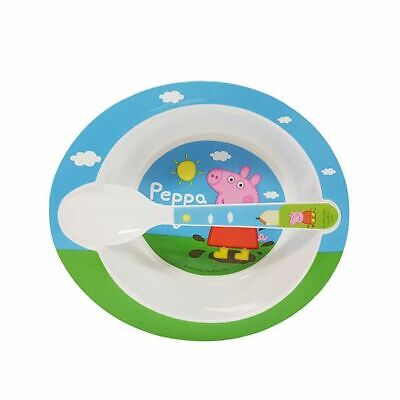 New Peppa Pig Bowl & Spoon By OZSALE