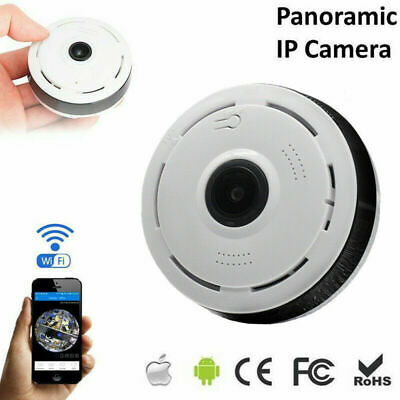 1080P V380 360 degree Wifi Panoramic Fisheye Baby Pet Security IP Camera Monitor