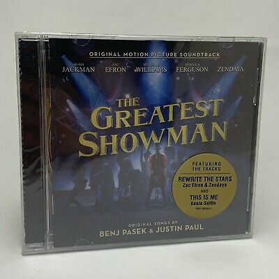 The Greatest Showman CD - Original Motion Picture Soundtrack - New & Sealed
