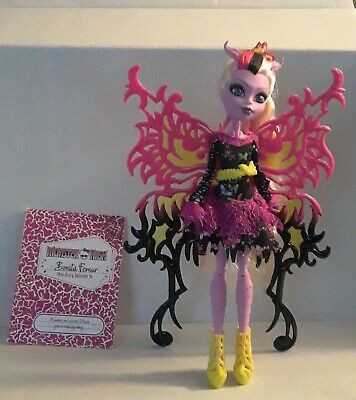 Monster High Freaky Fusion Hybrids Bonita Femur Doll and book