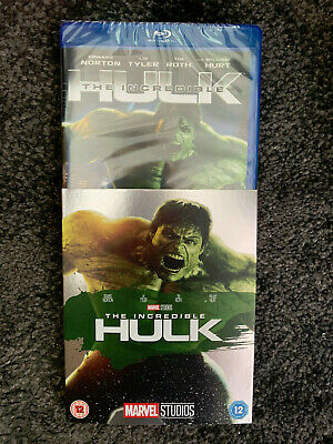 The Incredible Hulk Uk Region Free  Blu Ray With Slipcase Brand New