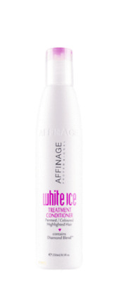 Affinage White Ice Treatment Conditioner 250ml for  coloured hair