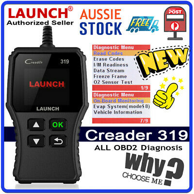 OZ! OBD2 EOBD Fault Code Reader Scanner Diagnostic Car Engine Scan Tool LAUNCH