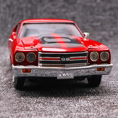Ertl 1970 Chevrolet Chevelle SS 454 Red Muscle Car Diecast Alloy Car Model 1:18