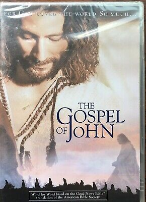 The Gospel of John (DVD, 2003, Widescreen) NEW Sealed! Christian