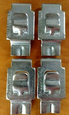 Republic Steel clips industrial metal shelving hooks 200 available lot