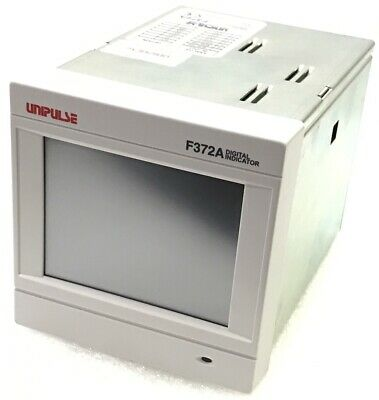 Unipulse F372A Digital Indicator Graphic Display Touch Panel Type
