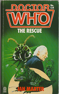 VERY RARE: Doctor Who - The Rescue. VGC-, 1st edn. Target Books. %2CharityDo!