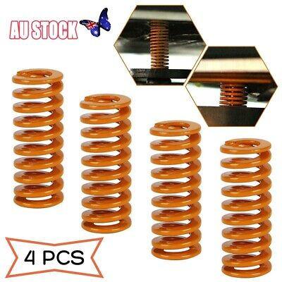 4x Creality Upgraded Flat Bed Springs For Ender-3 Ender 3 Pro CR-10 Printer AU
