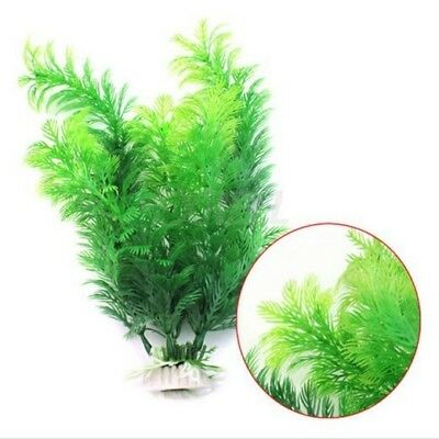 Fish AquariumAquarium Décor vert Plante Artificielle Plastique Water Plant30cm B