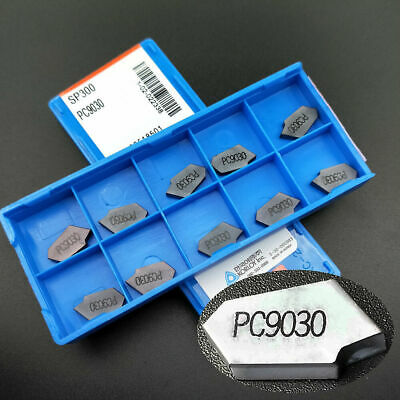 20PC SP300 PC9030 3mm wide Grooving blade cut off CNC carbide inserts for steel