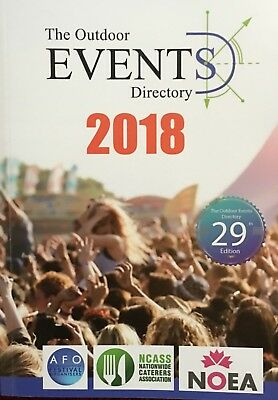 The Outdoor Events Directory 2018 - Paperback 29th Edition