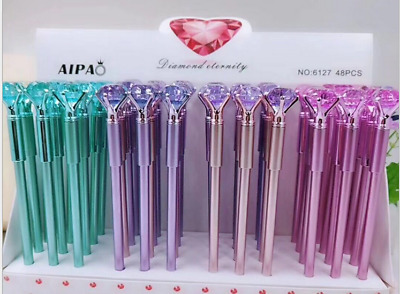 12x Diamond Head Crystal Ball Pen Concert Pen Creative Pen Stationery Student