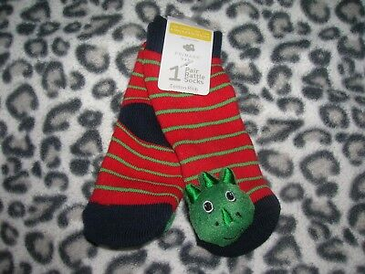 1 Pair Rattle Socks for 6-12 months Boy