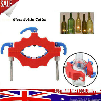 Glass BottleCutter Wine Bottles DIY Cutter Jar Cutting Machine Recycle Tool AU