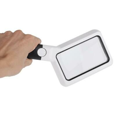 2X 20X Magnification Magnifier Handheld Magnifying Glass Loupe Jeweler Tool