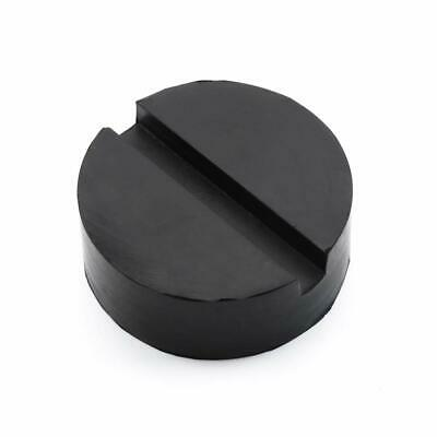 Floor Slotted Car Rubber Jack Pad Frame Protector Guard Adapter Tool Black Q1Z1