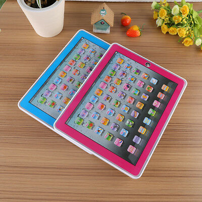Kid Educational Toy Tablet Learning English Pad Laptop Computer Child Game Gift1