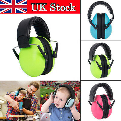 UK Kids Child Ear Muff Defenders Noise Reduction with Ear Plug for Sleeping