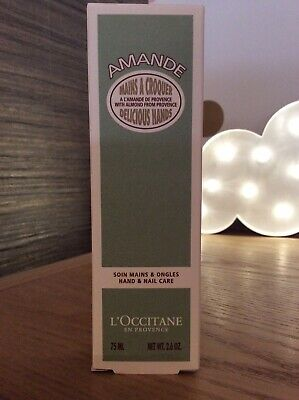 Brand New L,Occitane Amande Hand And Nail Care 75ml