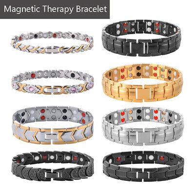Men Women Therapeutic Energy Bracelet  Magnet Therapy Bracelet Health Care