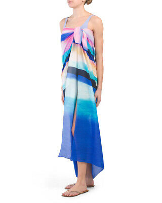 5cb8123fbb NWT GOTTEX FESTIVAL Swimsuit Pareo Cover-Up, O/S 100% Silk - $49.95 ...