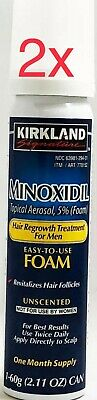 Kirkland Hair Regrowth Treatment Minoxidil Foam for Men - 2 Months Supply - NEW!