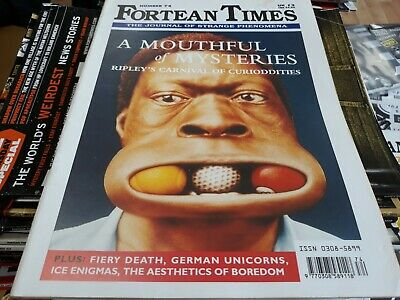 FORTEAN TIMES: 'The Journal of Strange Phenomena' #74. 1994