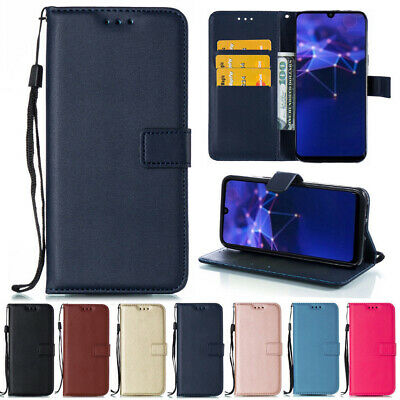 For Huawei P Smart 2019/Mate 20 Lite Flip Leather Wallet Stand Book Case Cover