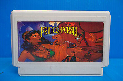 Rare famiclone PRINCE OF PERSIA Old Chips Famicom Nes Cartridge