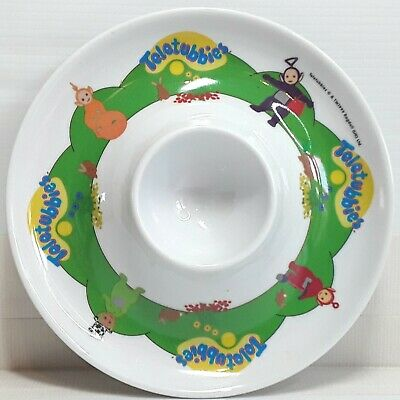 Teletubbies eggcup egg cup dish plate Melamine