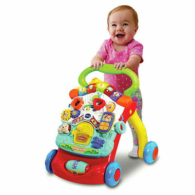 Vtec First Steps Baby Walker Refresh Multi