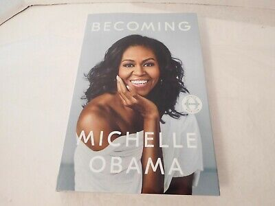 Becoming by Michelle Obama Hardcover Dust Jacket First Ed/1st Print Oprah Book