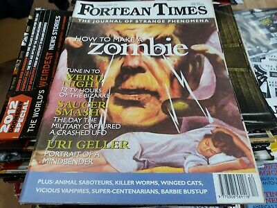 FORTEAN TIMES: 'The Journal of Strange Phenomena' #78. 1995