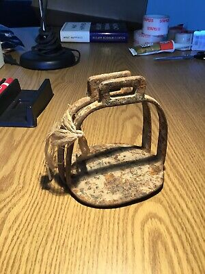 Old Iron Horse Cavalry? Stirrups Excavated No Reserve
