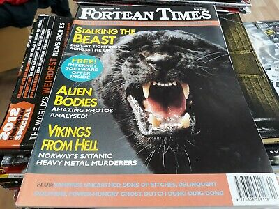 FORTEAN TIMES: 'The Journal of Strange Phenomena' #80. 1995