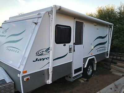 Jayco Expanda Outback Pop Top Caravan (ACT)