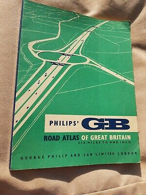 Vintage Philips' GB Road Atlas