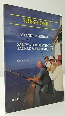 Fresh One! Standup Fishing Saltwater Methods Tackle & Techniques angling book pb